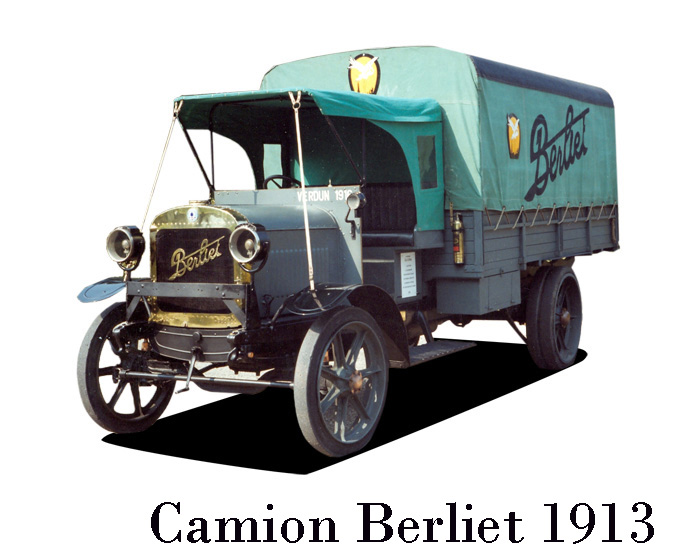 """N°00 - cadeau 4 Berliet Type CBA 1913 bâché  """"Berliet""""   Camion-berliet-1913-maxi"""